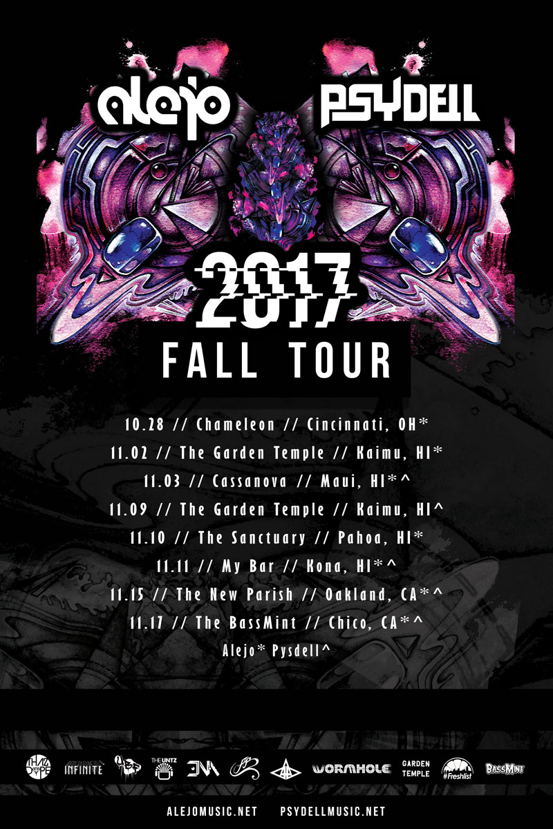 Alejo & Psydell fall tour 2017