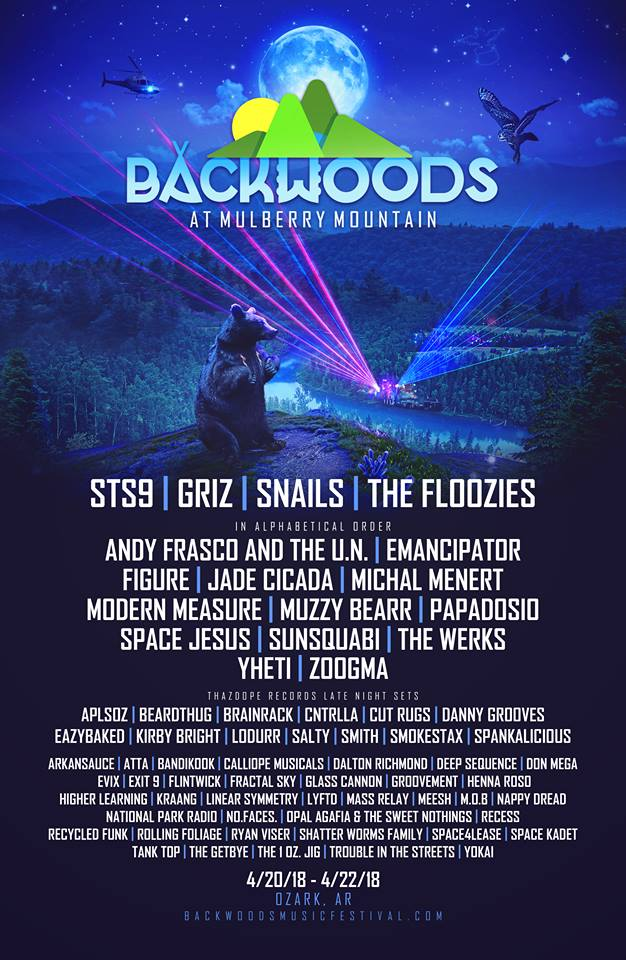 Backwoods 2018 Phase 2