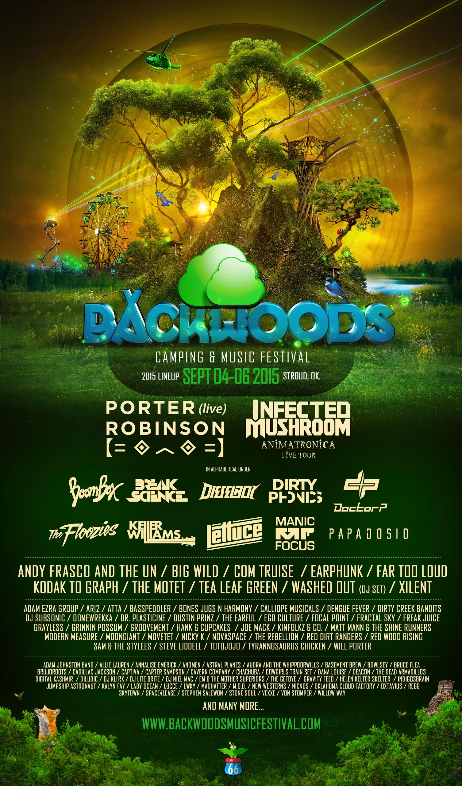 Infected Mushroom Songs Delightful porter robinson, infected mushroom headline backwoods festival in ok