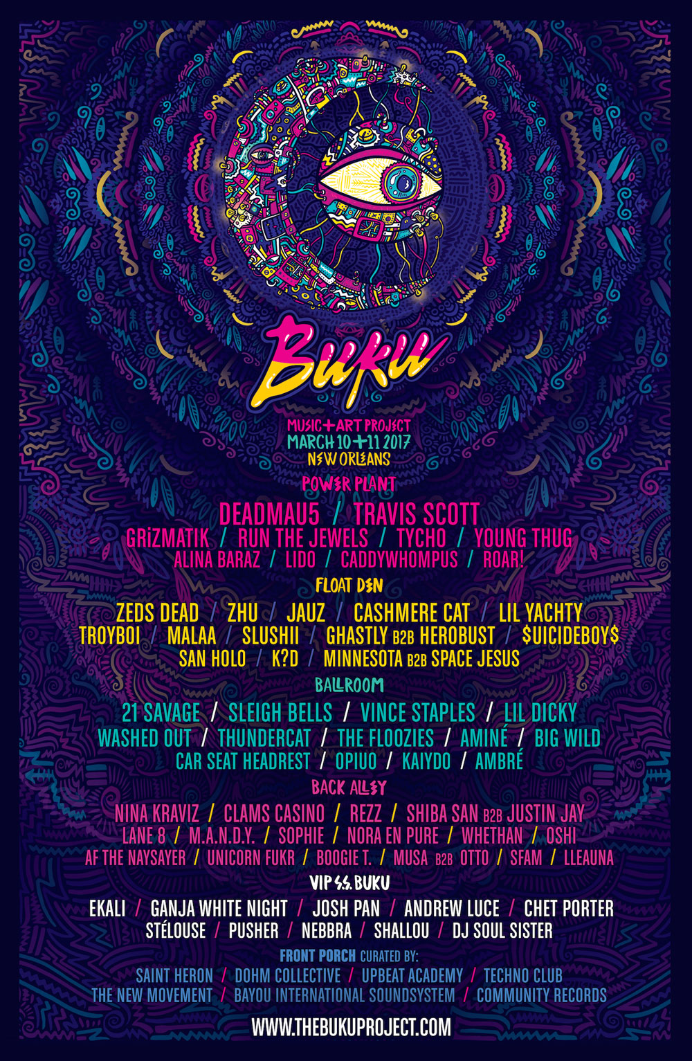 BUKU Music + Art Project