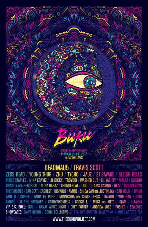 BUKU Music + Art Project 2017