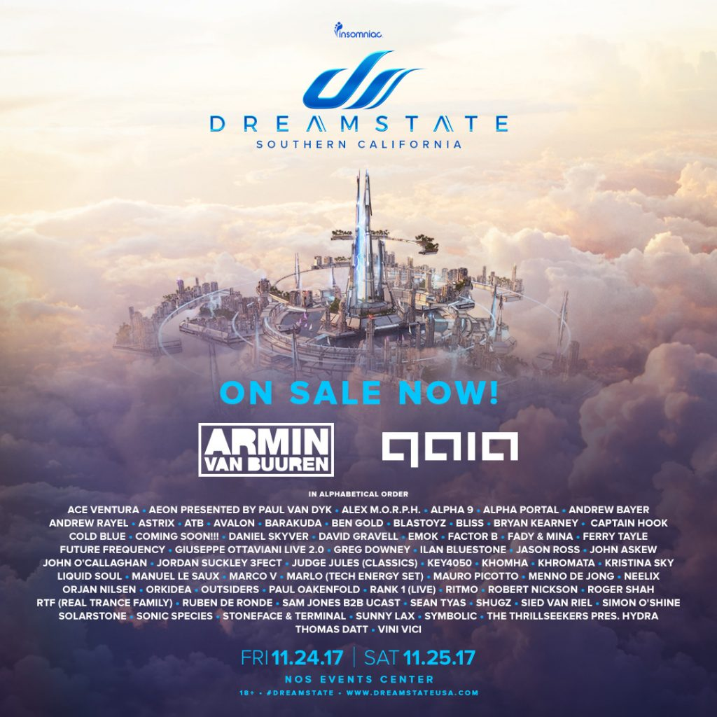 Dreamstate 2017 Socal