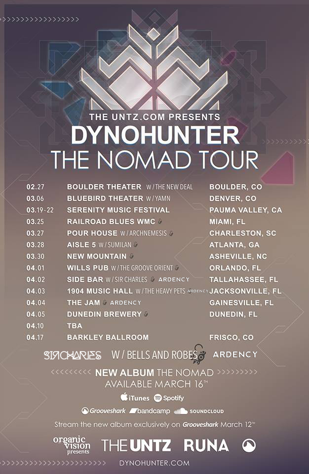 Dynohunter - The Nomad tour