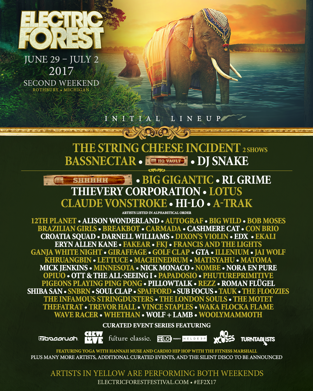 Electric Forest Weekend 2