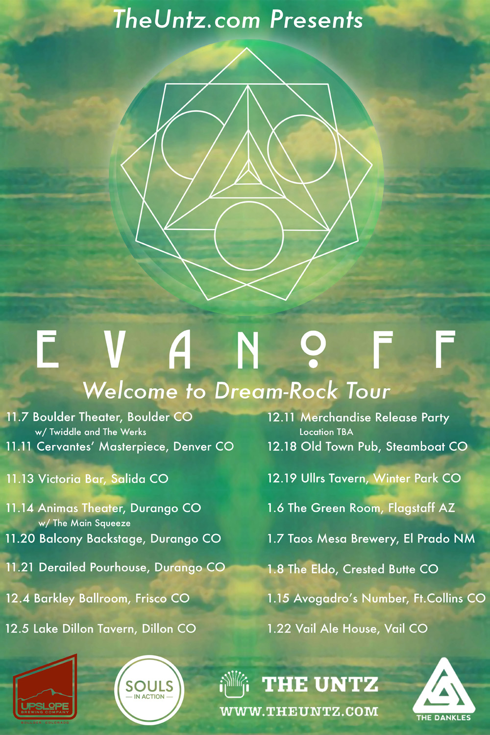 Evanoff winter tour
