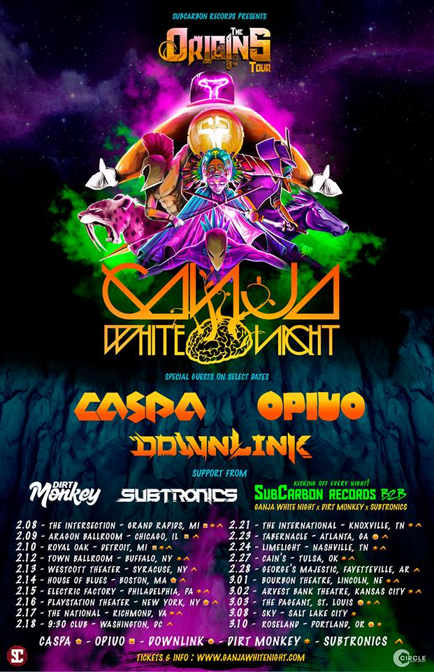 Ganja White Night Origins Tour