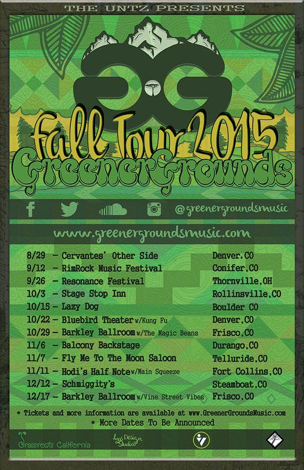 Greener Grounds fall tour