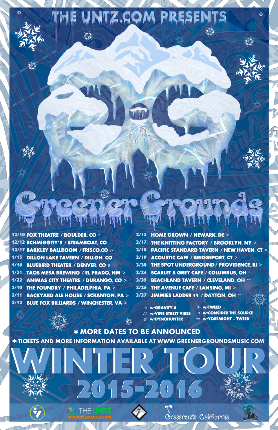 Greener Grounds Winter Tour