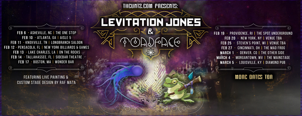 Levitation Jones + Toadface