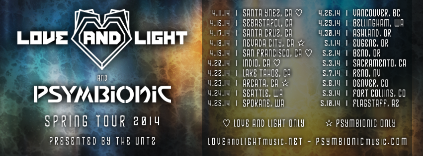 Love and Light Spring 2014 Tour
