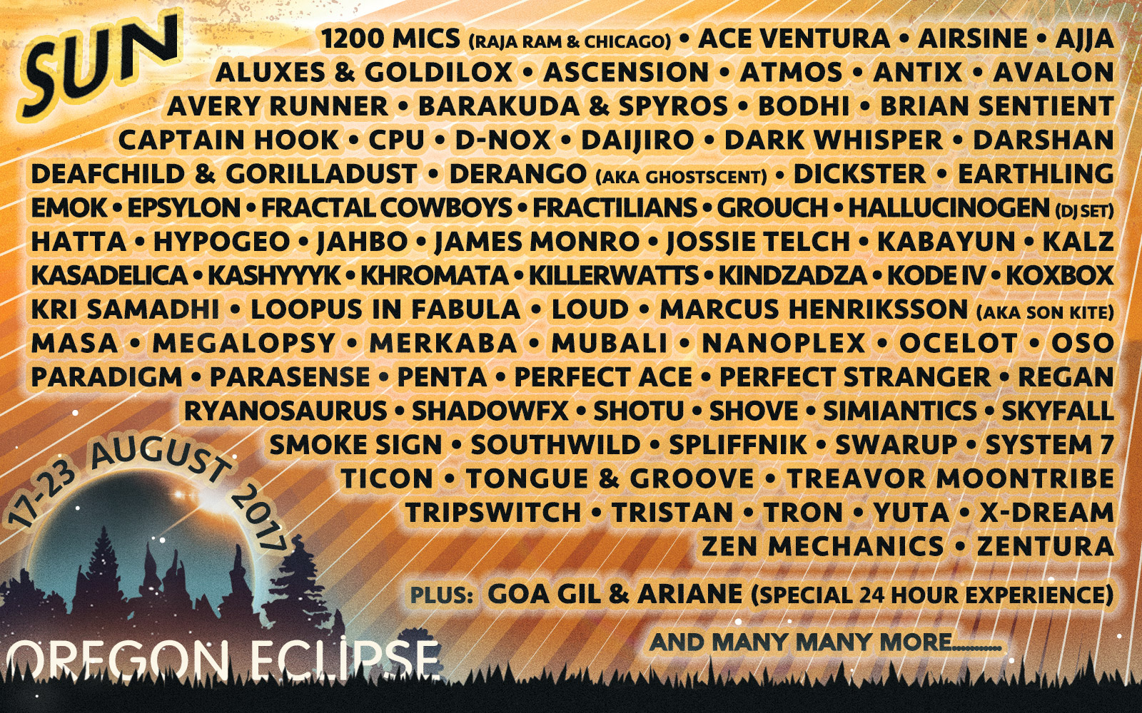 Global Eclipse Gathering — Sun Stage
