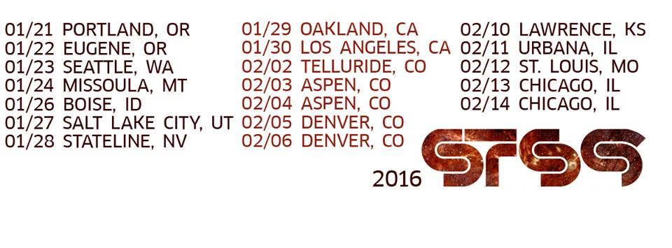 STS9 winter tour 2016