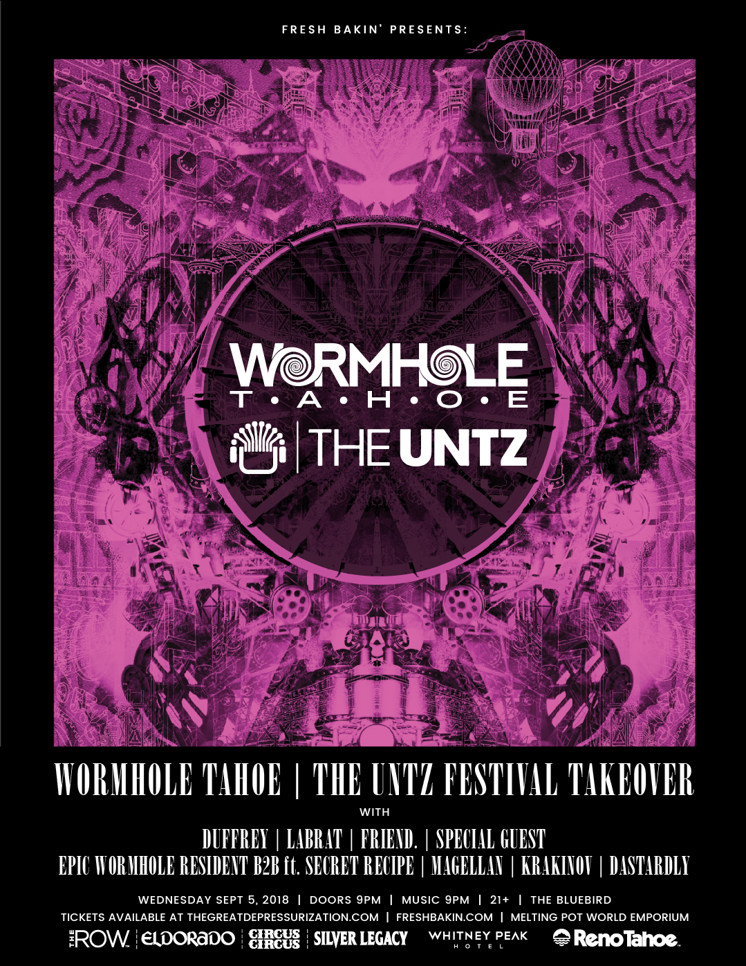 Wormhole Tahoe x The Untz Festival