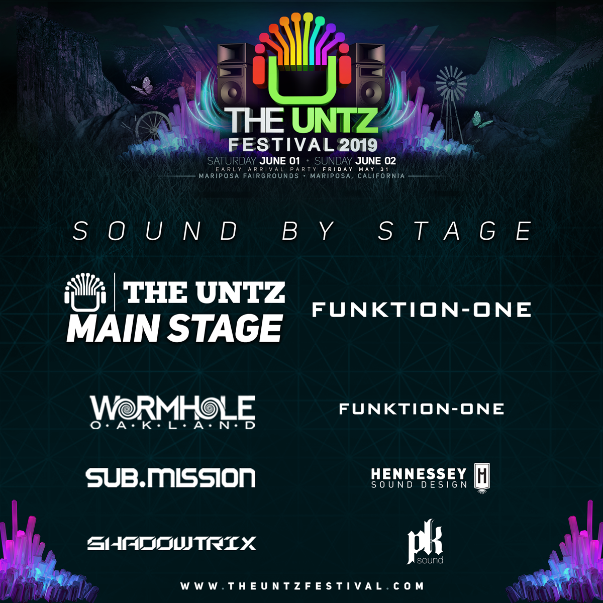 The Untz Festival 2019 sub.mission