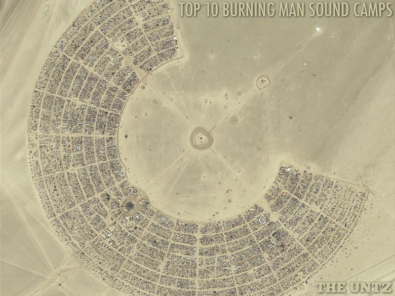Burning Man Sound Camps