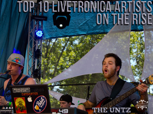 Top 10 Livetronica Artists On the Rise
