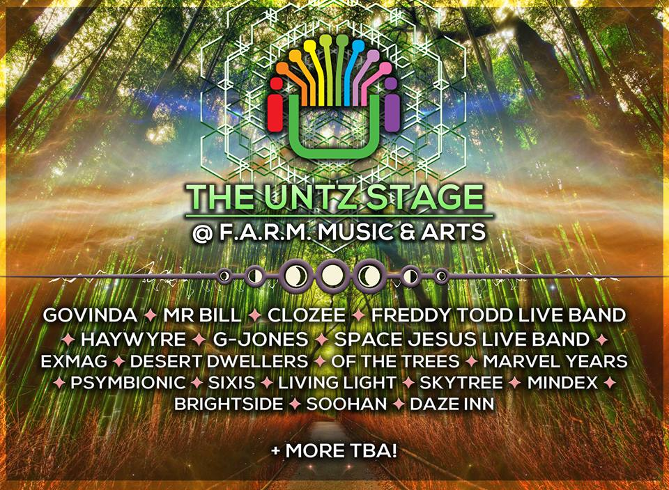 The Untz Stage at FARM Fest