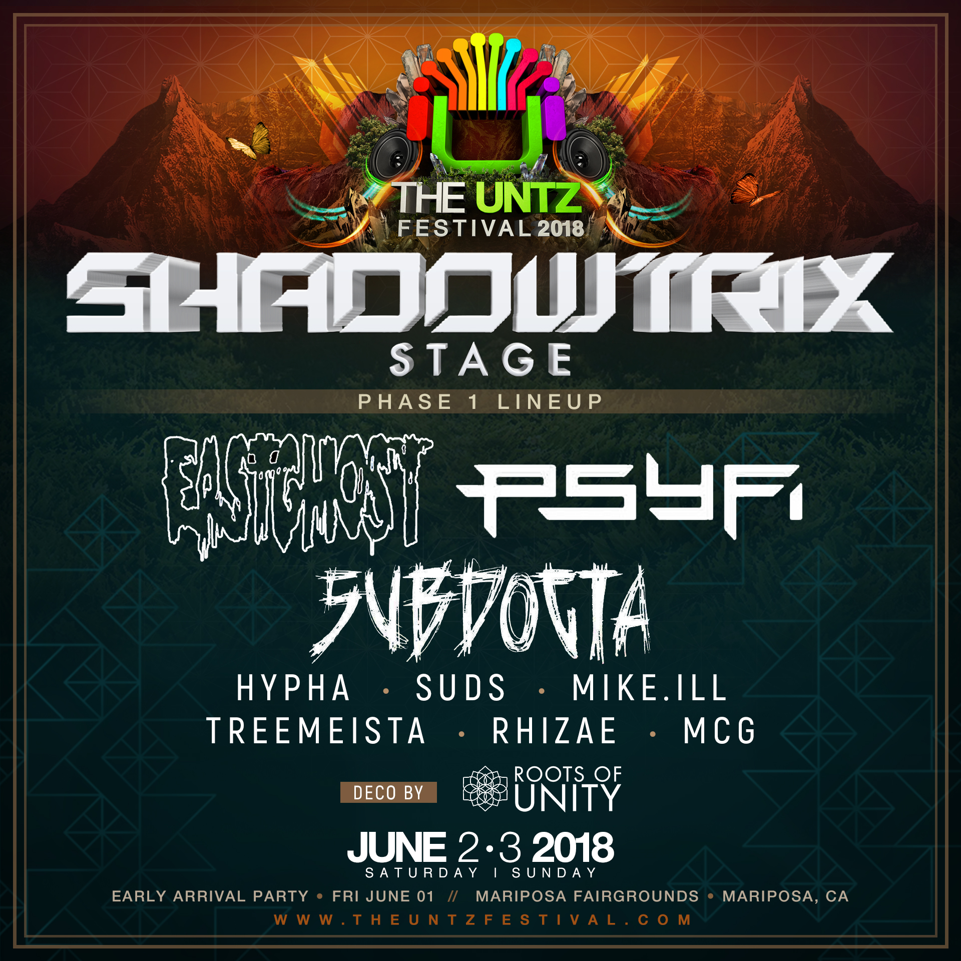 The Untz Festival - ShadowTrix Music
