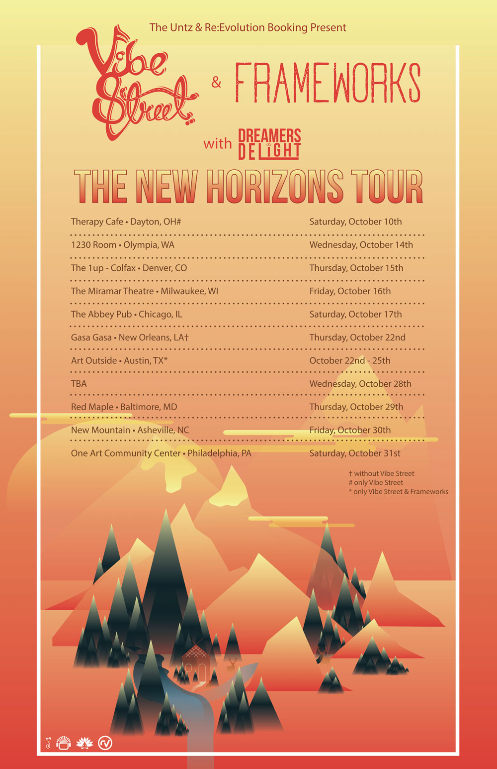 THE NEW HORIZONS TOUR