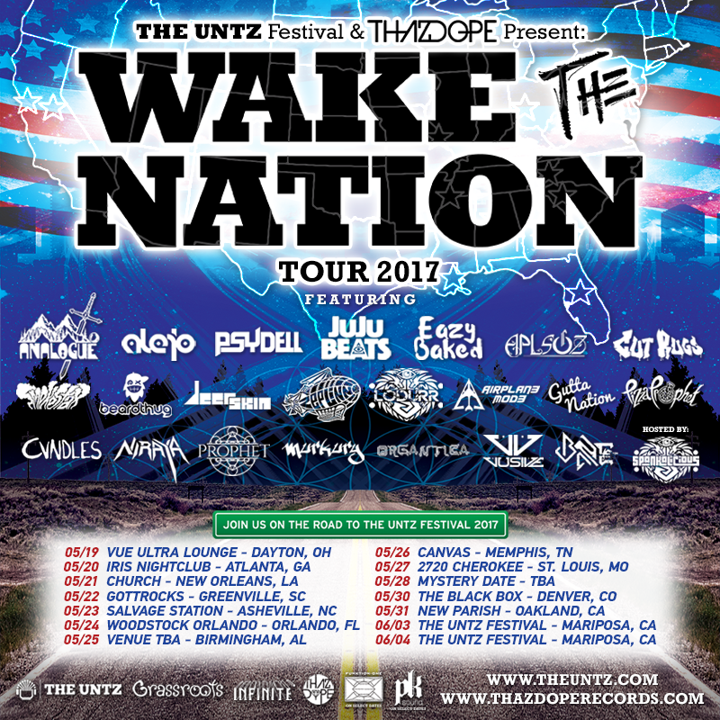 ThazDope Wake The Nation