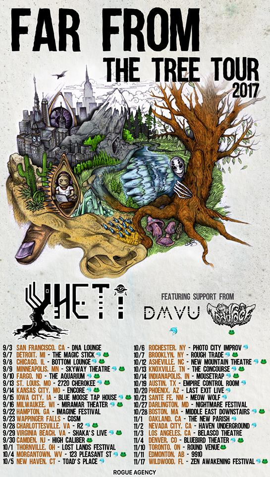 Yheti Far From The Tree Tour