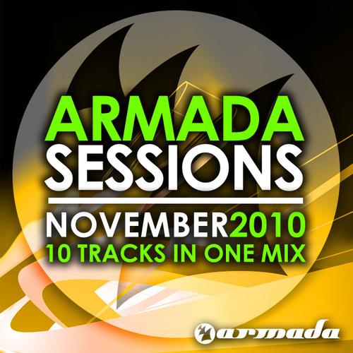 Album Art - Armada Sessions - November 2010 - 10 Tracks In One Mix