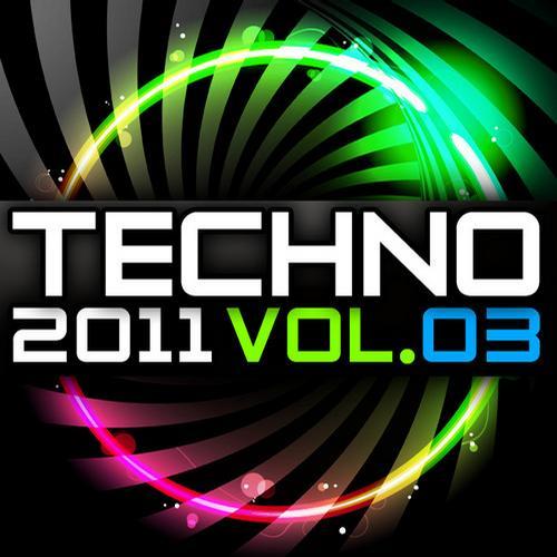 Album Art - Techno 2011, Vol. 3