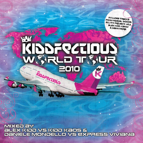 Album Art - Kiddfectious World Tour 2010