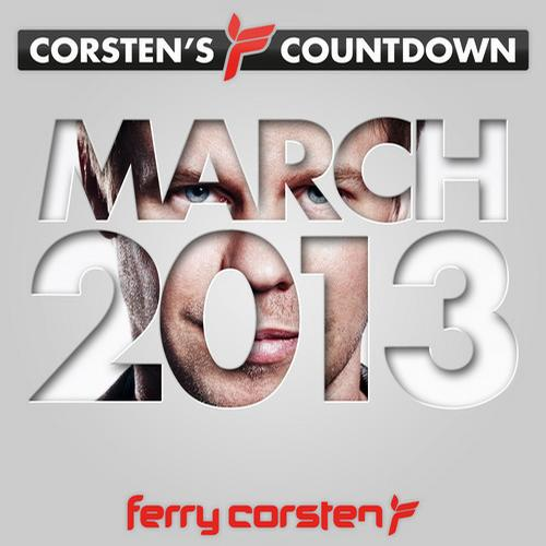 Album Art - Ferry Corsten presents Corsten's Countdown March 2013
