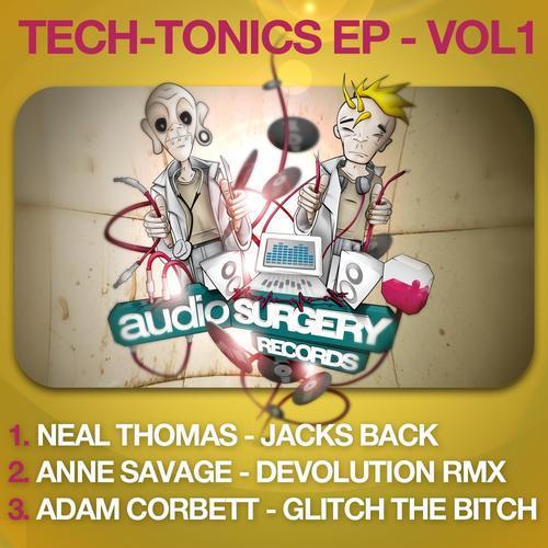 Album Art - Tech-Tonics EP - Vol. 1