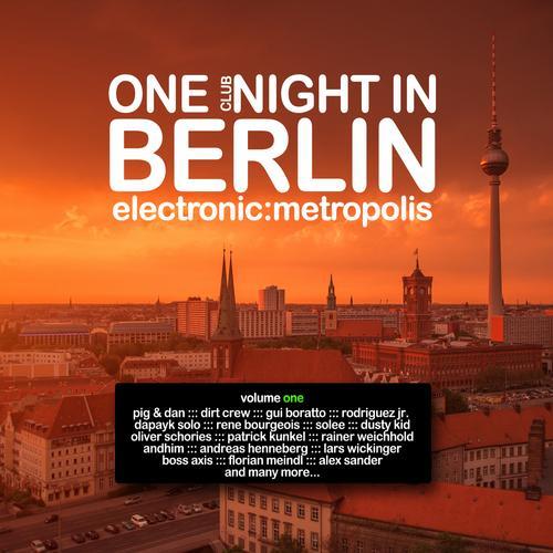 Album Art - One Clubnight in Berlin - Electronic Metropolis, Vol. 1