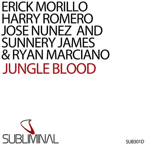 Album Art - Jungle Blood