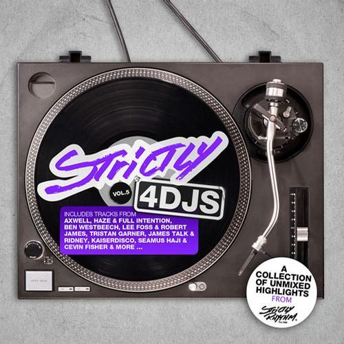 Album Art - Strictly 4 DJs Vol 5