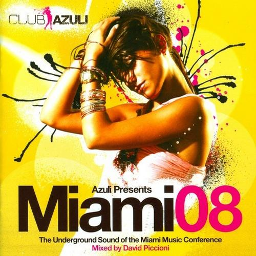 Album Art - Azuli Presents Miami 08