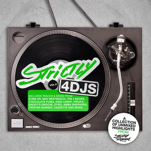 Album Art - Strictly 4DJS Vol. 6