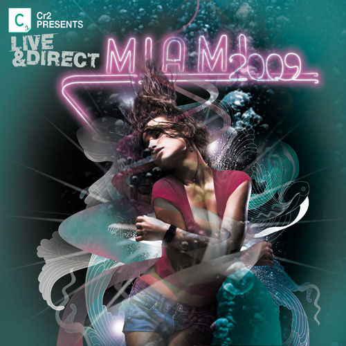 Album Art - Cr2 Presents Live & Direct - Miami 2009