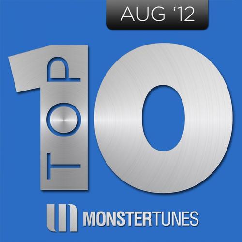 Album Art - Monster Tunes Top 10 - August 2012