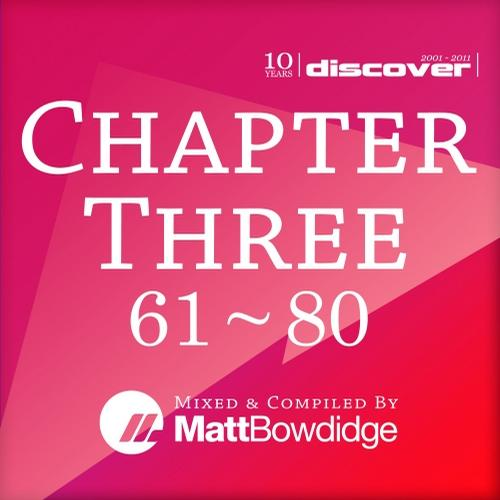 Album Art - Chapter Three Mixed by Matt Bowdidge