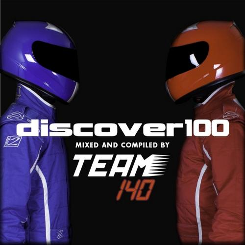 Album Art - DISCOVER100 (Mixed and Compiled by Team 140)