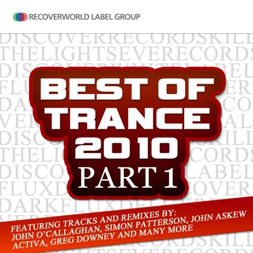 Recoverworld Best Of Trance 2010 Part 1 Album Art