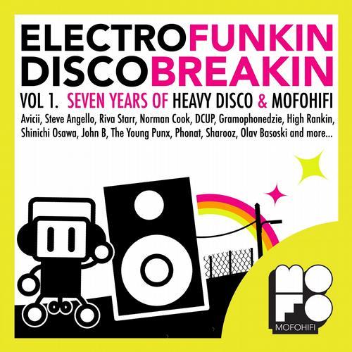 Electrofunkin Discobreakin (Vol. 1 - Seven years of Heavy Disco & MofoHifi) Album Art