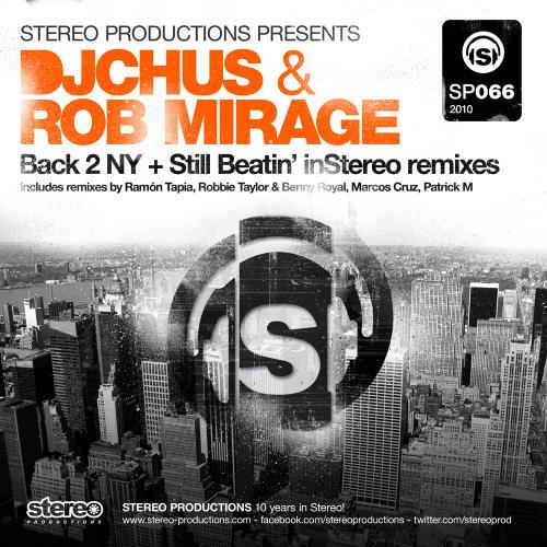 Album Art - Back 2 NY + Still Beatin' InStereo Remixes