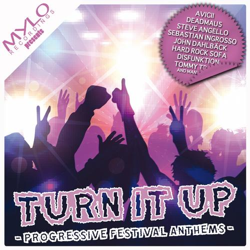 Album Art - Turn It Up - Progressive Festival Anthems
