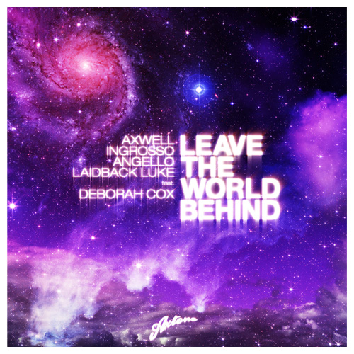 Album Art - Leave The World Behind