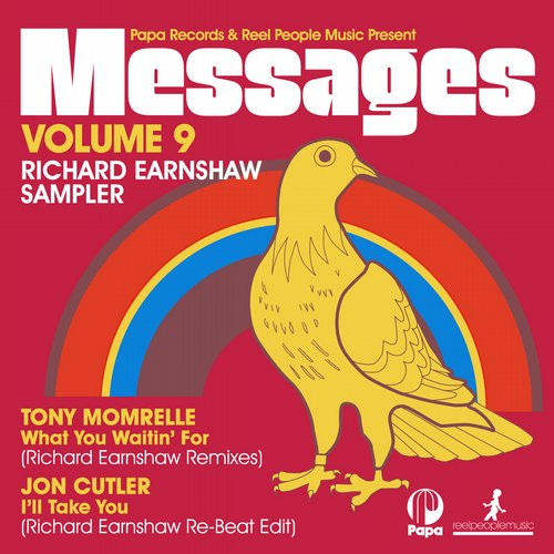 Album Art - Papa Records & Reel People Music Present MESSAGES Vol. 9 Richard Earnshaw Sampler