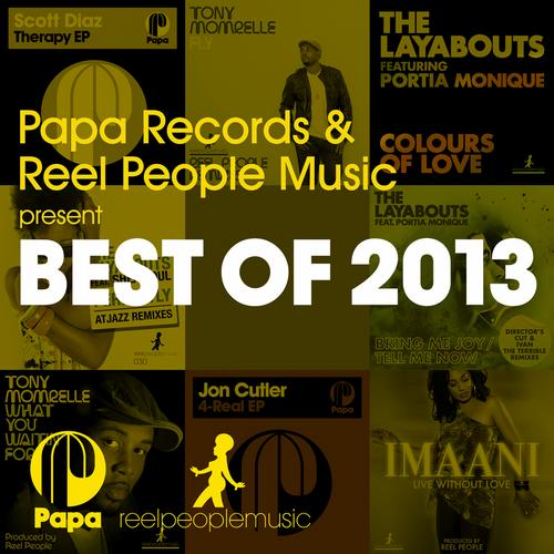 Album Art - Papa Records & Reel People Music Present BEST OF 2013