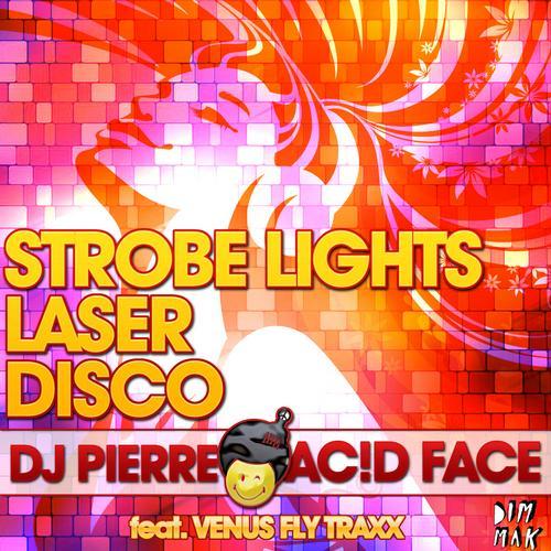 Album Art - Strobe Lights, Laser, Disco