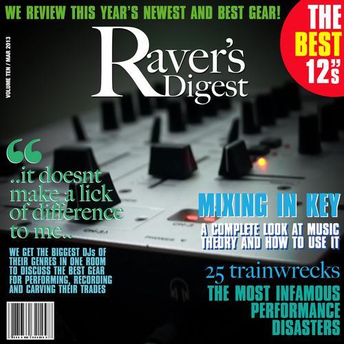 Album Art - Ravers Digest (March 2013)