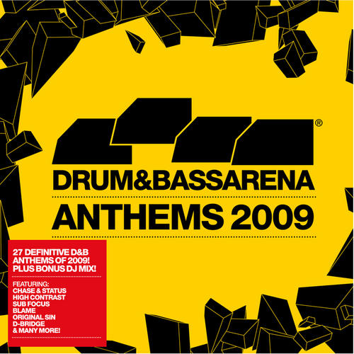 Album Art - Drum & Bass Arena Anthems 2009