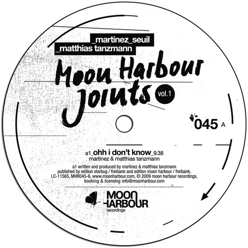Album Art - Moon Harbour Joints Volume 1